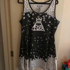 NWT fall out boy dress size 3xl